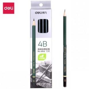 Bút chì gỗ 4B cao cấp Deli 6846
