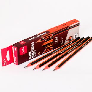 Bút chì gỗ 2B Deli 37015 (tam giác)